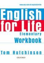 english for life elementary: workbook without key 9780194307543