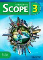 scope 3. student s book diana pye ben wetz 9780194506243