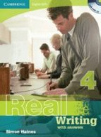 real writing with answers and audio cd (nivel 4) roger gower 9780521705943