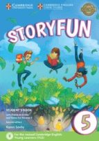 storyfun for flyers (2nd edition   2018 exam) 1 student s book with online activities & home fun booklet 9781316617243