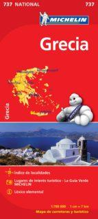 mapa grecia 2012 (ref. 737) 9782067172043