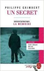 un secret (edition pedagogique) philippe grimbert 9782253183143