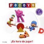 pocoyo: ¡es hora de jugar! (libro con solapas y un espejo)-9788408074243