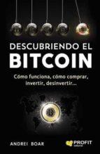 descubriendo el bitcoin andrei boar boar 9788416904143