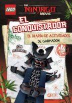 the lego ninjago movie: el conquistador: el diario de actividades de garmadon-9788417243043