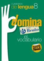 cuadernos domina lengua 8 vocabulario 3 9788421669143