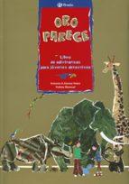 oro parece: libro de adivinanzas para jovenes detectives-antonio a. gomez yebra-9788421691243