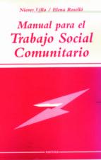 manual para el trabajo social comunitario-nieves lillo-elena rosello-9788427713543