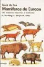 guia de los mamiferos de europa detlef schilling detlef singer 9788428207843