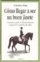 como llegar a ser un buen jinete:consejo para el adiestramiento basico de caballos de silla-christian pläge-9788428211543