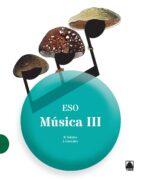 Música III ESO - València (2016) - 9788430786343