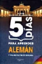 5 dias para aprender aleman robert wilson 9788431540043