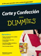 CORTE Y CONFECCIÓN PARA DUMMIES (EBOOK)