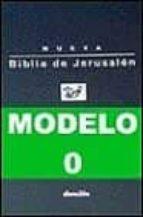 biblia de jerusalen, edicion bolsillo, mod. 0 (cubierta flexible, funda de plastico) 9788433014443