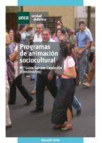 programas de animación sociocultural (ebook) maria luisa sarrate capdevila 9788436268843