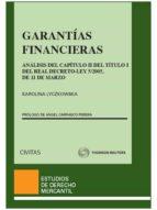 garantias financieras karolina lyczkowska 9788447042043