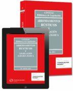 arrendamientos rústicos y legislacion agraria basica (28ª ed.) (duo) ricardo alonso garcia 9788447047543