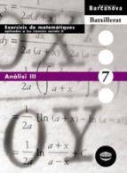 anàlisi iii  (cataluña) 9788448915643