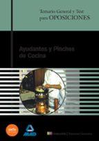 ayudantes y pinches de cocina: temario general y test-9788466522243