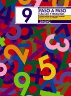 paso a paso 9. calculo y problemas: division-andrea pastor fernandez-francisco ruiz casado-9788466713443