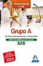 FACULTATIVOS ESPECIALISTAS DEL AREA DEL SERVICIO ANDALUZ DE SALUD : TEMARIO SANITARIO GENERAL (TEMAS 10-24) Y TEST