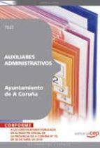 AUXILIARES ADMINISTRATIVOS DEL AYUNTAMIENTO DE A CORUÑA: TEST