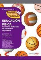 cuerpo de profesores de enseñanza secundaria. educacion fisica temario vol 2 9788468131443