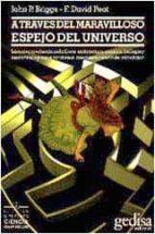 a traves del maravilloso espejo del universo john p. briggs f. david peat 9788474323443