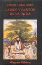 sabios y santos en la india-enrique gallud jardiel-9788478132843