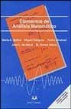 elementos de analisis matematico maria eulalia ballve miguel delgado 9788488667243