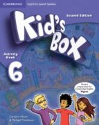 kid s box ess 6 2ed act/cd rom/hm booklet 9788490367643