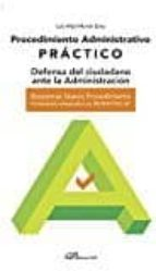 procedimiento administrativo practico luis vidal martín sanz 9788490859643