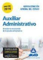 auxiliar administrativo de la administración general del estado. simulacros de examen de la prueba informática-9788490938843