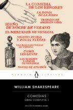 comedias (obra completa shakespeare 1) william shakespeare 9788491051343