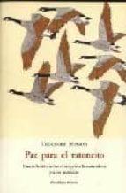 paz para el ratoncito: una reflexion sobre el respeto a la natura leza y a los animales-théodore monod-9788497162043