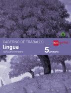 El libro de Caderno lingua 3º trimestre celme ed 2014 gallego autor VV.AA. TXT!