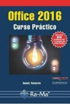 office 2016: curso practico-handz valentin-9788499646343