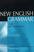 new english grammar for bachillerato (incluye cd rom) jean rowan 9789963471843