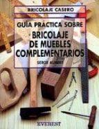 INICIACION AL BRICOLAJE DE MUEBLES COMPLEMENTARIOS