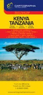 KENYA TANZANIA (CARTOGRAPHIA) (1:2500000)(REF.6974)