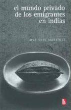 El mundo privado de los emigrantes en indias (Biblioteca Universitaria de Bolsillo)