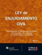 Ley de Enjuiciamiento Civil (Códigos básicos La Ley)
