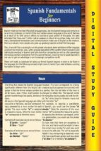 SPANISH FUNDAMENTALS ( BLOKEHEAD EASY STUDY GUIDE) (EBOOK)