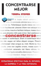 CONCENTRARSE MEJOR (EBOOK)