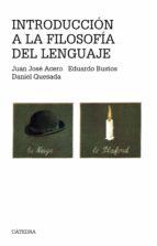 INTRODUCCION A LA FILOSOFIA DEL LENGUAJE (3ª ED.)