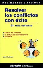 RESOLVER LOS CONFLICTOS CON EXITO