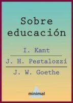 Sobre educación (Ensayos Universales)
