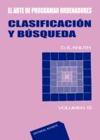 CLASIFICACION Y BUSQUEDA (EL ARTE DE PROGRAMAR ORDENADORES VOL II I)