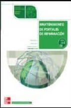 MANTENIMIENTO DE PORTALES DE INFORMACION (CICLO FORMATIVO GRADO M EDIO INFORMATICA)