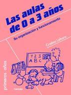 Las aulas de 0 a 3 años: Su organización y funcionamiento (Primeros Años)